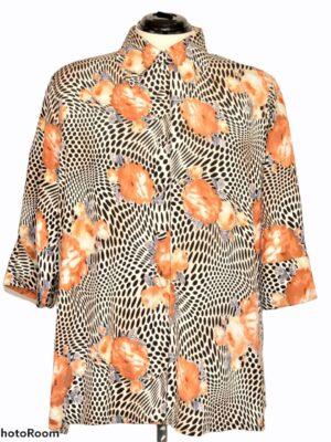 Kirju vintage pluus/kimono