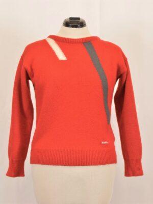 Punane villane sviiter