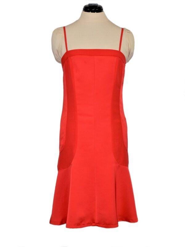Õlapaeltega punane kleit Filippa K